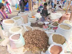 Epices marché de Bati